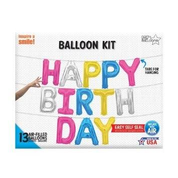 Happy Birthday Balloon Kit - Balloonies Studio