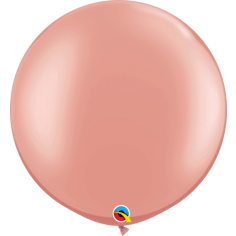 Jumbo  Round 90cm Balloon Rose Gold - Balloonies Studio