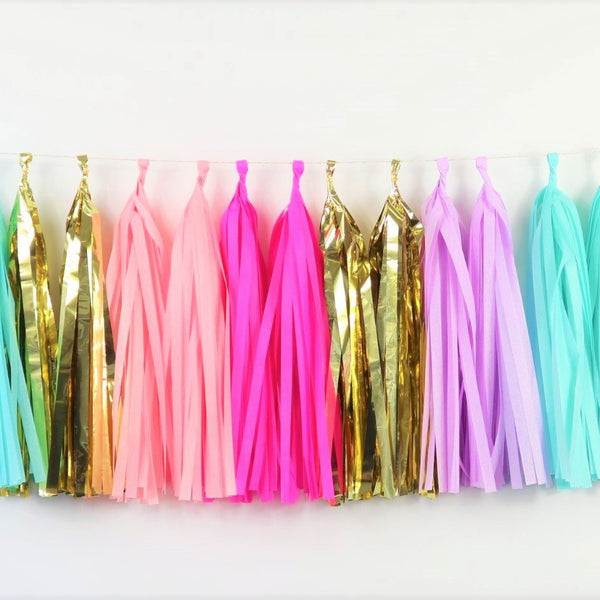 Whimsical Tassel Garland - Balloonies Studio