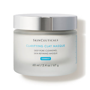 Clarifying Clay Masque (2.4 oz.) - A non-drying decongestant face mask for all skin types.