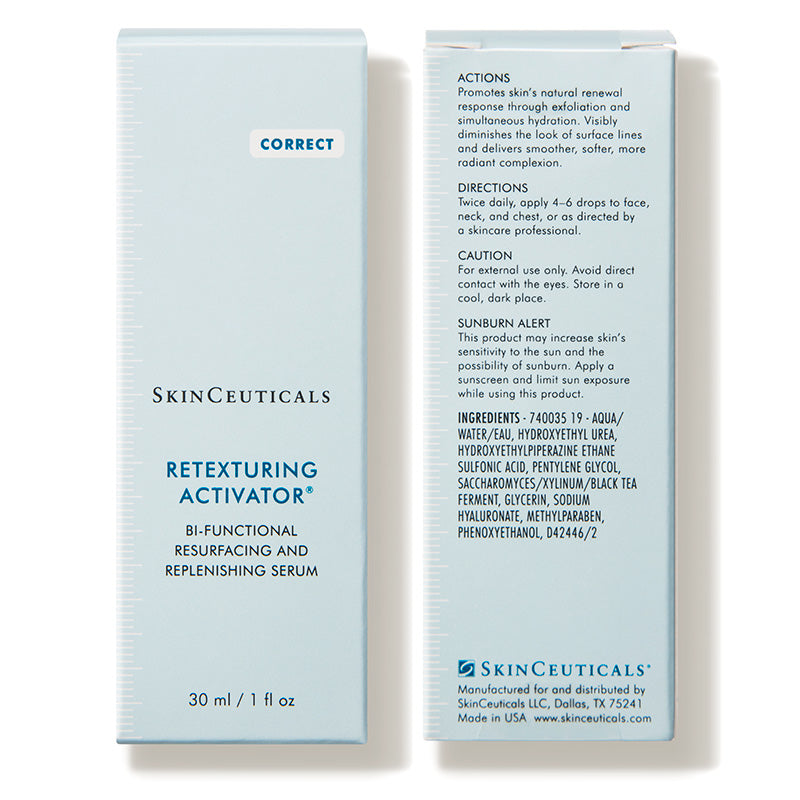 Retexturing Activator (1 fl. oz.) - An oil-free serum and hydrating exfoliant for a smooth, radiant complexion.