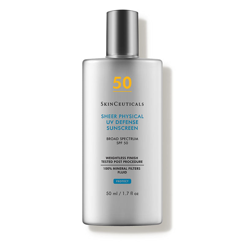 Sheer Physical UV Defense SPF 50 (1.7 fl. oz.) - A mattifying, broad-spectrum sunscreen for normal, oily, combination and sensitive skin types.