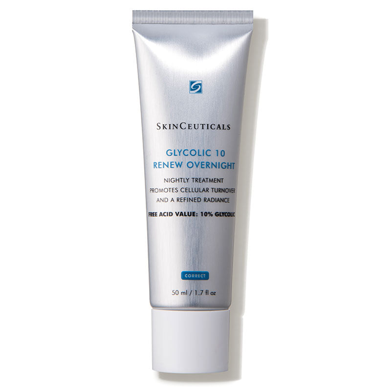 Glycolic 10 Renew Overnight (1.7 fl. oz.) - A night cream made with 10% glycolic acid to improve the appearance of skin tone and texture.