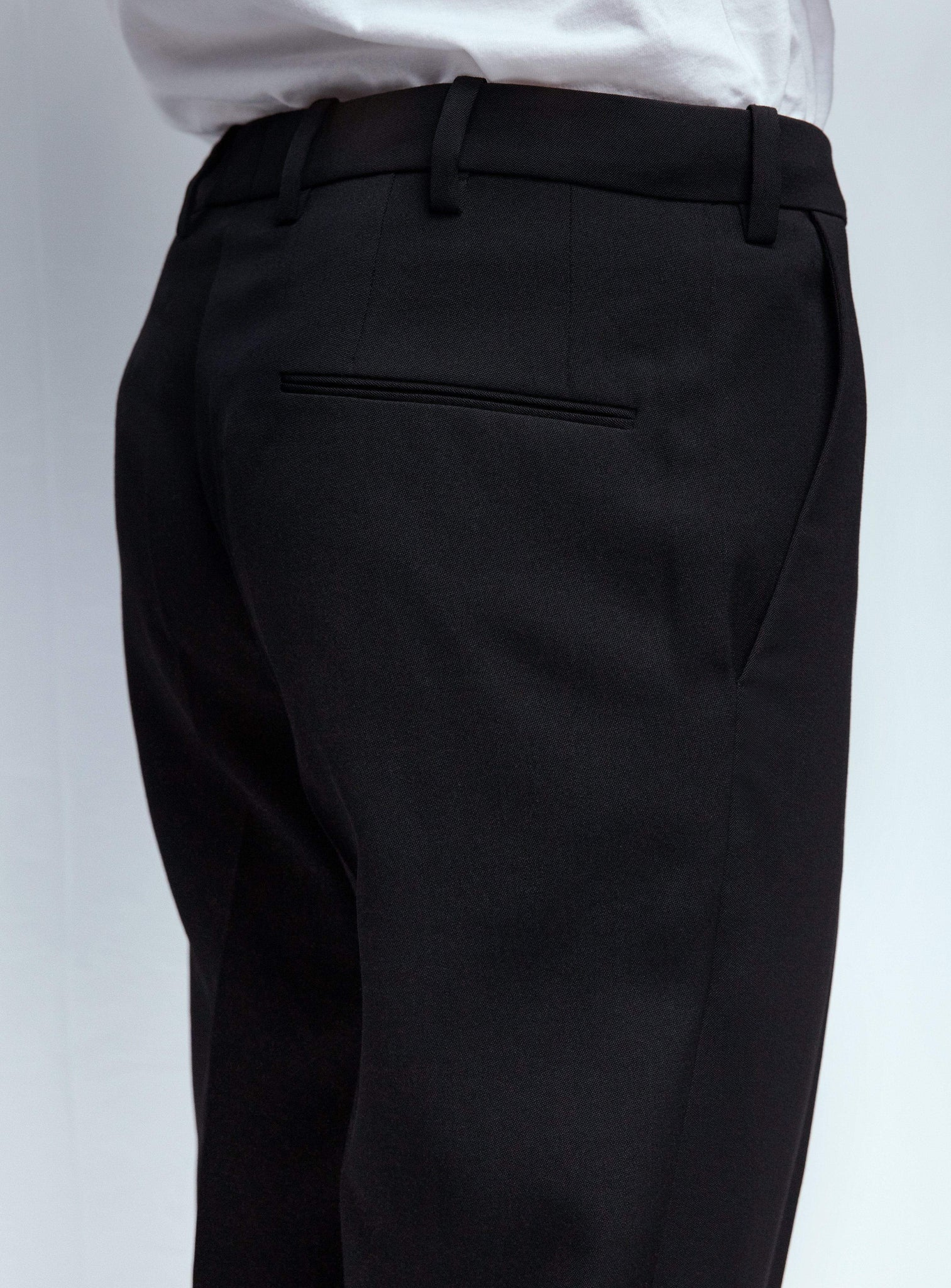 Wardrobe NYC Bottoms Trouser |M01 variant:color:black
