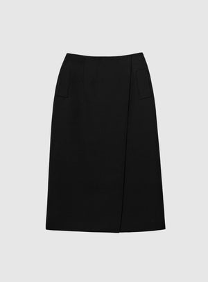 Wardrobe NYC Bottoms Black / IT 40 Skirt |W01
