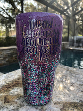 Custom Glitter 30oz Tumbler - Shipping Option