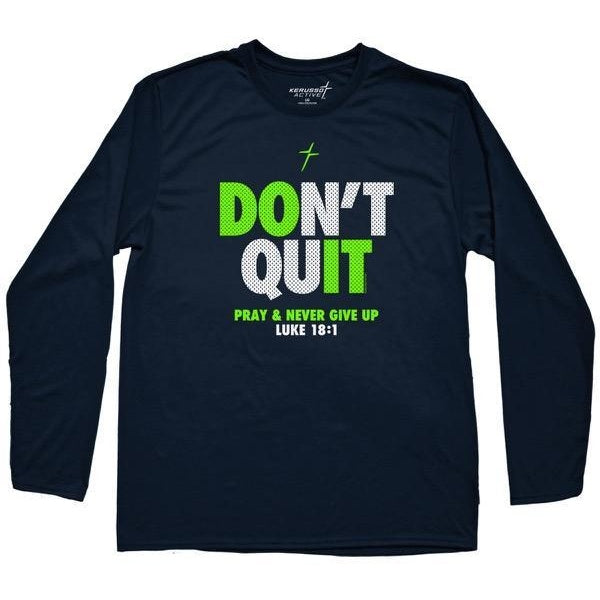 Don't Quit - Youth Christian T-Shirt