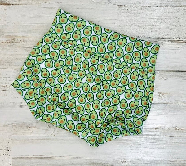 Avocado High Waisted Bummies