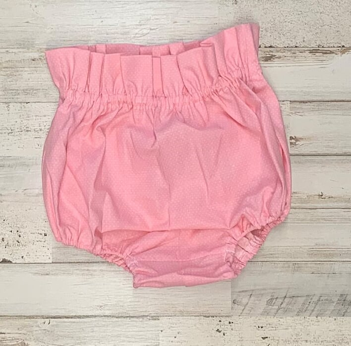 Baby Pink And White Dots Bloomers