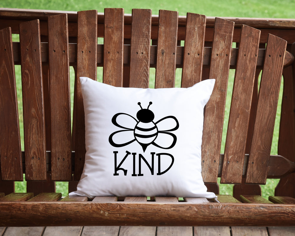 Bee Kind Throw Pillow