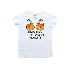 Candy Corn Is My Favorite Vegetable T shirt