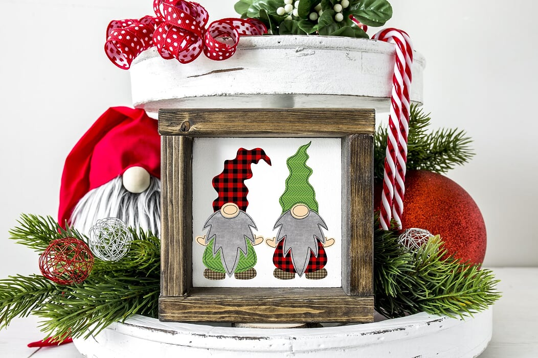 Christmas Gnomes Sign
