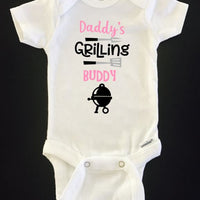 Daddy's Grilling Buddy ONESIES ® brand Gerber