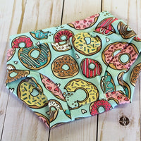 donut bummies flat lay