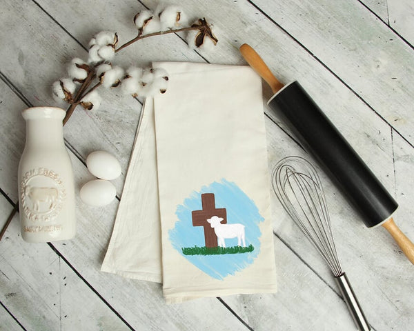 Easter Kitchen Tea Towel