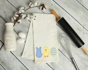 Easter Trio Kitchen Tea Towel