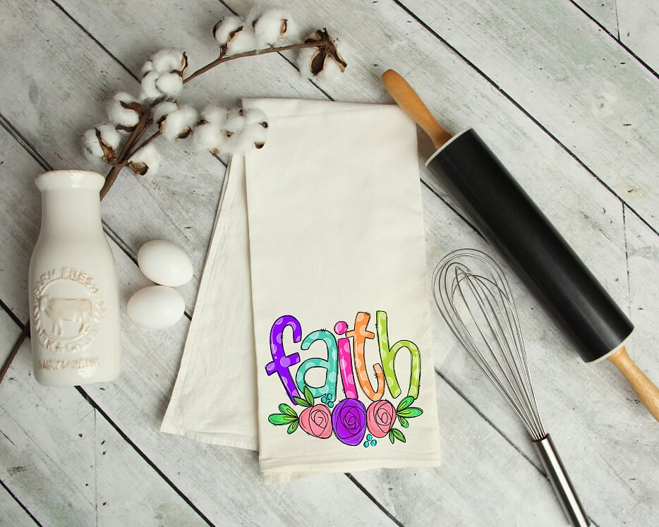 Faith Kitchen Tea Towel