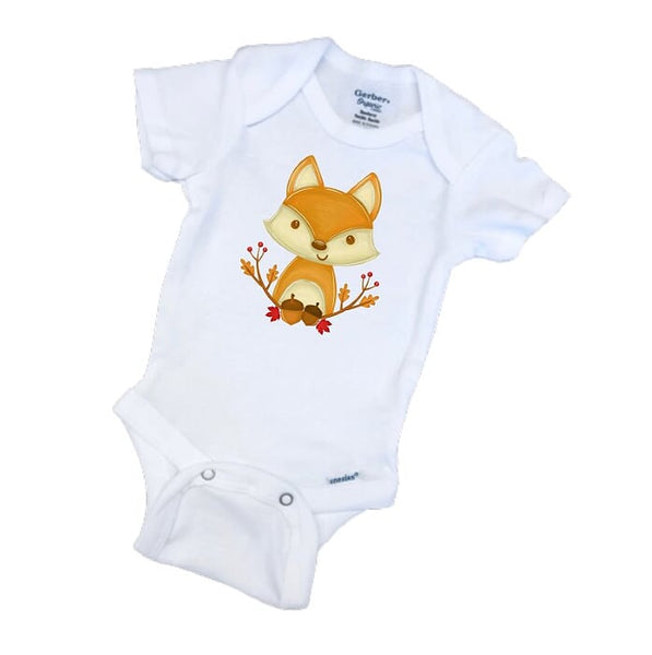 Fall Fox Gerber ONESIE ®