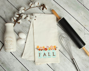 Fall Kitchen Tea Towel