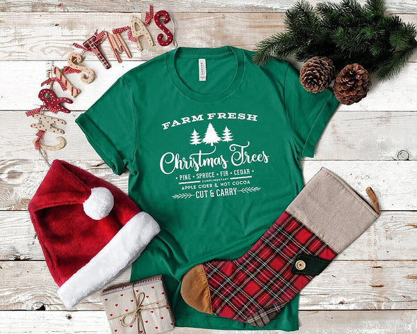 Farm Fresh Christmas Trees T shirt