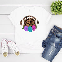 Football And Roses T shirt