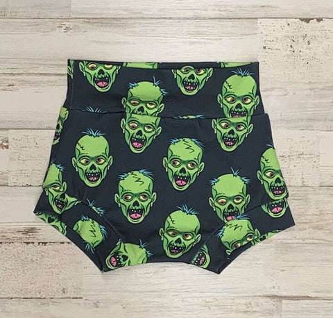 Frankenstein High Waisted Bummies