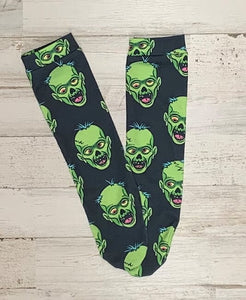 Frankenstein Knee High Socks