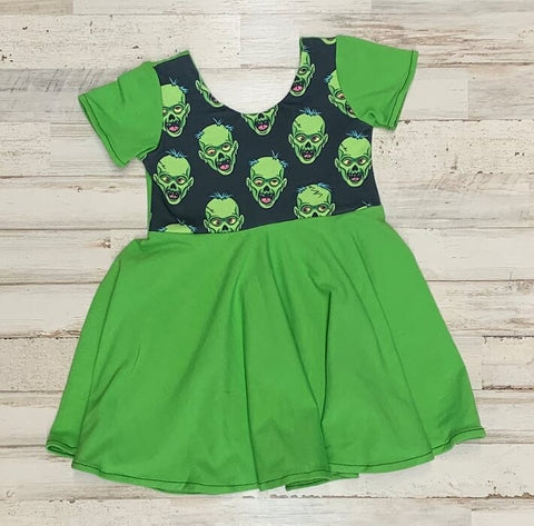 Frankenstein Twirl Dress