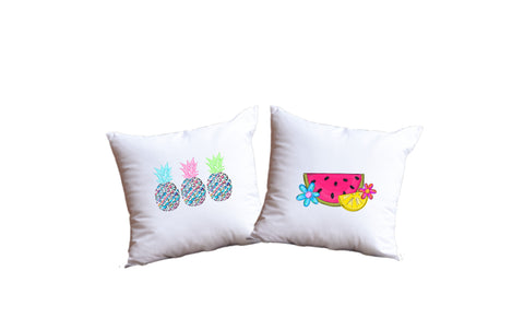 Fruit Throw Pillow Set