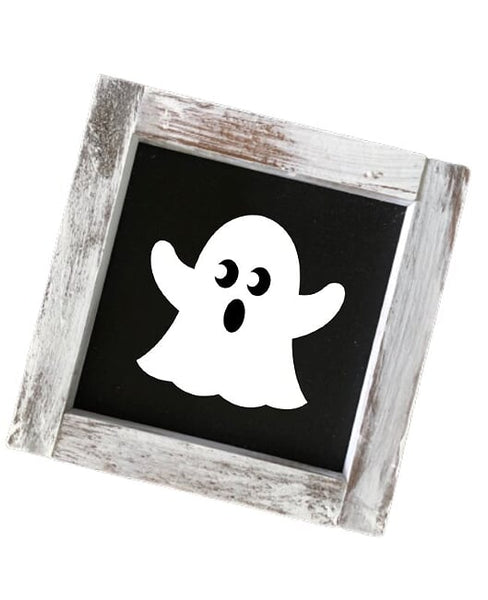 Ghost Square Sign