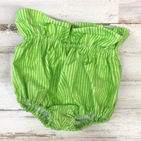 Green Stripes Bloomers