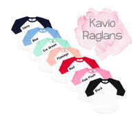 Personalized Easter Bunny Raglan