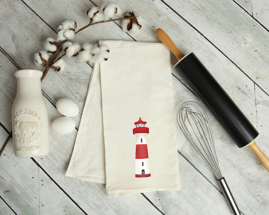 Lighthouse Kitchen Tea Towel