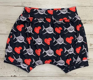 Love Bites Shark Shorties