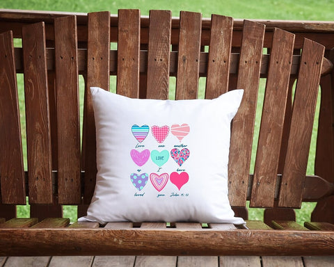 Love One Another As I Have Loved You Throw Pillow