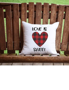 Love Is Sweet Throw Pillow