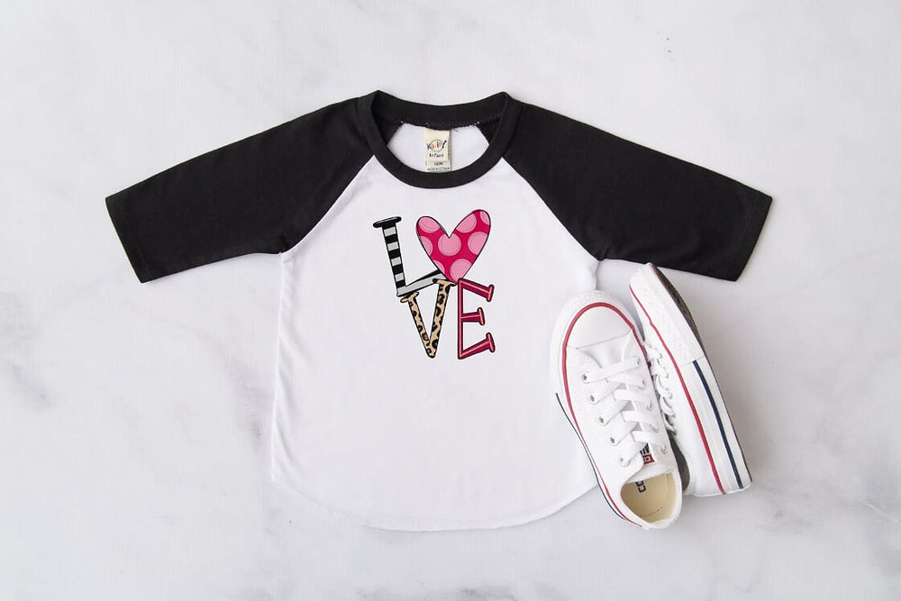 Love Raglan, Multiple Sizes Available