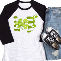 Lucky St. Patricks's Day Raglan Shirt