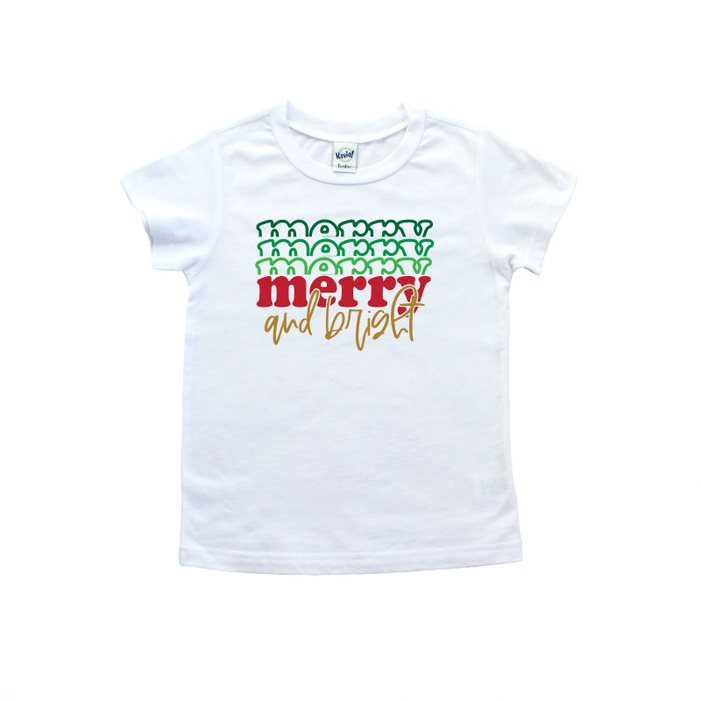 Merry And Bright T Shirt