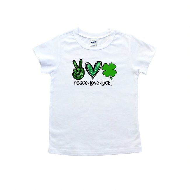 Peace Love Luck T Shirt