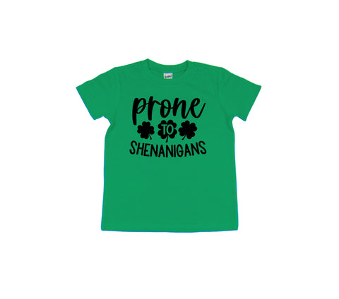 Prone To Shenanigans T Shirt