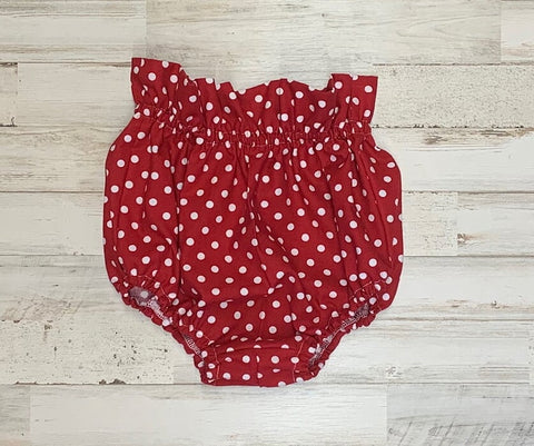 Red Polka Dot Bloomers