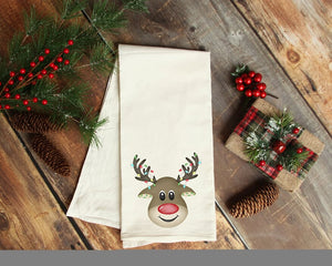 Reindeer Decorative Kitchen Towel