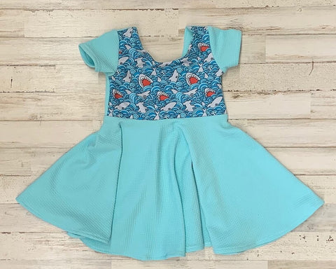 Shark Twirl Dress