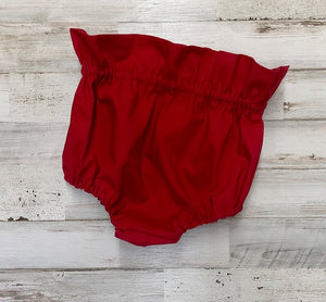 Solid Red Bloomers