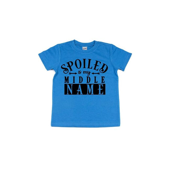 Spoiled Is My Middle Name T Shirt