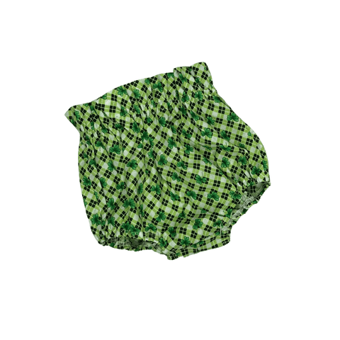 St. Patrick's Day Plaid Bloomers