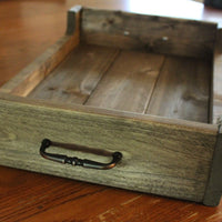 Walnut Decorative Wooden Serving Tray