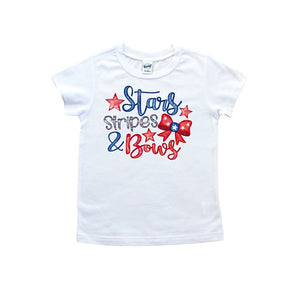 Stars Stripes and Bows T shirt