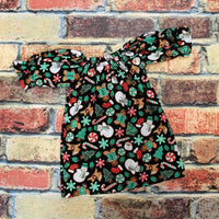 Christmas Sugar Cookies Peasant dress